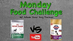 Science Diet vs Royal Canin : Monday Mash-up
