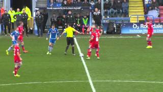 Rochdale 0-0 Oldham Athletic: October 24th 2015: Highlights