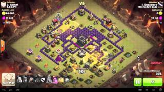 Clash of Clans - TH9 - Full Hog - War 91 vs C.O.C.PH - Dracarys vs #2