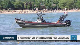 Teenage boy drowns off Woodbine Beach