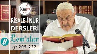 """Lem'alardan 11. DERS (25. LEM'A """"Hastalar Risalesi"""") Hüsnü Bayram Ağabey ile Risale-i Nur Dersi"""