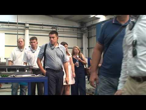 Factory visit by kazakhstan