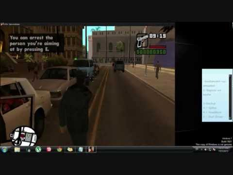 Gta San Andreas Police Skin Mod