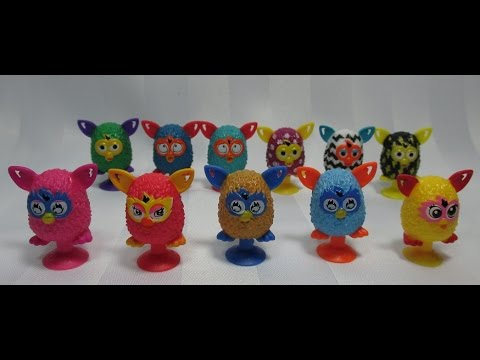 Furby Boom Stickies Apertura 20 Sobres  YouTube
