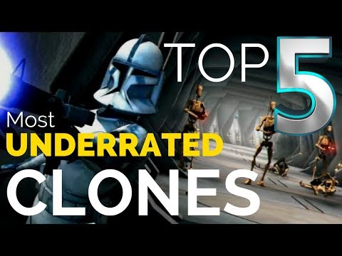Top 5 Most UNDERRATED Clone Troopers