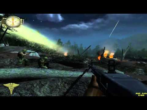 Men of Valor - Part 3-2 - Khe Sahn Hill Fights - Night Fight on Hill 881N