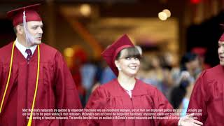 McDonald's: Archways to Opportunity® Program Participant Nicole Cross Life Stage at CTU Graduation