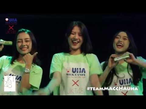 #UHAxJKT48 #TeamMacchaUHA