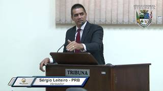 32ª Sessão Ordinária - Vereador Sergio Leiteiro