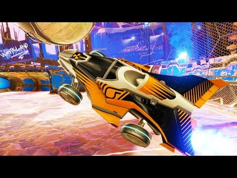 4 NEW ROCKET LEAGUE CARS!