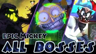 Epic Mickey All Bosses  (Wii)