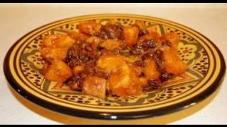 Moroccan Salad Of Sweet Potatoes And Raisins - Thanksgiving Recipe - Cookingwithalia - Episode 36
