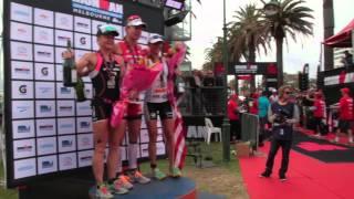 Ironman Melbourne - Women's podium