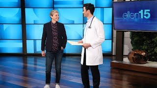 Video Ellen Gets a Pre-Birthday Checkup from Two Very Reliable Doctors download MP3, 3GP, MP4, WEBM, AVI, FLV Oktober 2018