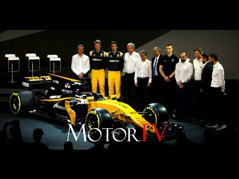 MOTORSPORT : F1 2017 l RENAULT SPORT R.S.17 LAUNCH IN LONDON