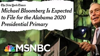 Michael Bloomberg Considering 2020 Run As Dem | The Beat With Ari Melber | MSNBC