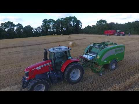 Tillage 2017 - Paul O'Connor Agri Contracts - Drone Footage (HD)