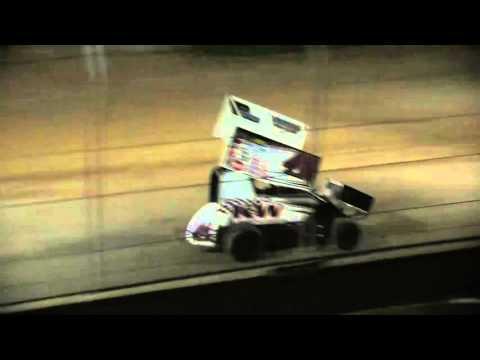 Giovanni Scelzi 4-30-16 Super 600 Heat Race Delta Speedway