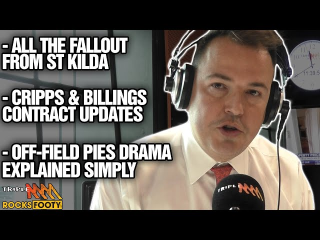 Tom Browne's News | Saints Fallout, Contract Updates, Stephen Wells Steps Down | Triple M Footy