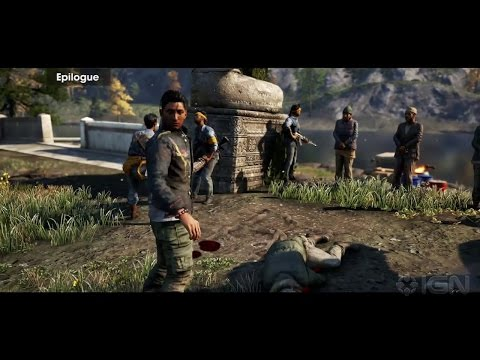 Far Cry 4 Sabal Golden Path Cutscenes