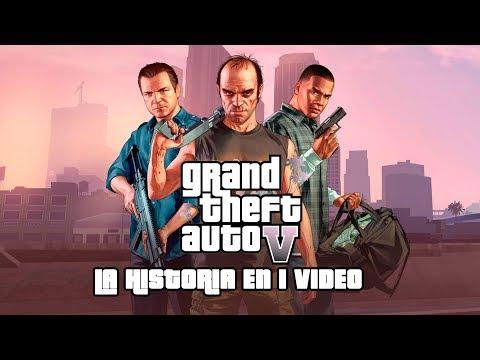 Grand Theft Auto V: La Historia en 1 Video