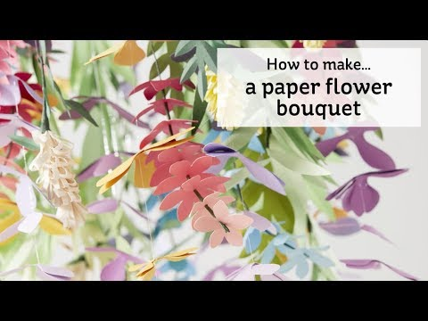 How To Make Paper Flowers Hobbycraft