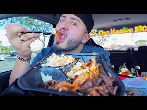 HAWAIIAN BBQ MUKBANG - Eating Show