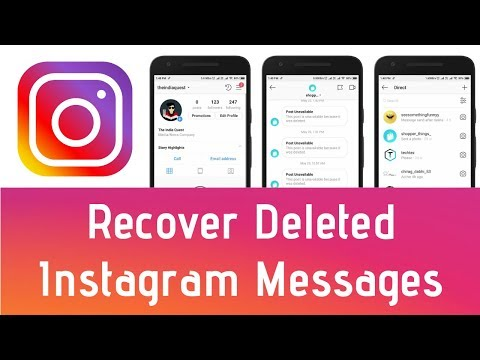 Can you see if someone deleted your message on instagram