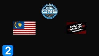 Highlights TeamMalaysia vs Gigabyte.Mineski Game 2- ESL One Frankfurt 2015