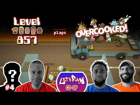 Let's Play Co-op: Overcooked! Special Edition | 4-Player Gameplay | Walkthrough #4 | Nintendo Switch