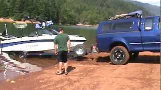 F150 Stuck with Boat