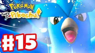 Legendary Pokemon Articuno! - Pokemon Let's Go Pikachu and Eevee - Gameplay Walkthrough Part 15