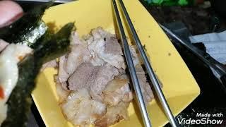 돼지 간 삼겹살 볶음 ➡ 태국 (이싼อีสาน) 먹거리…