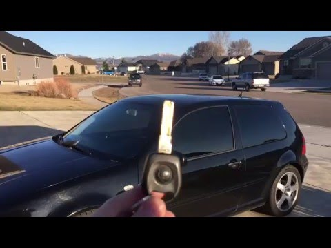 How to program key fobs WITH ONLY ONE KEY for a MK4 VW GTI, Jetta, passat, or Beetle