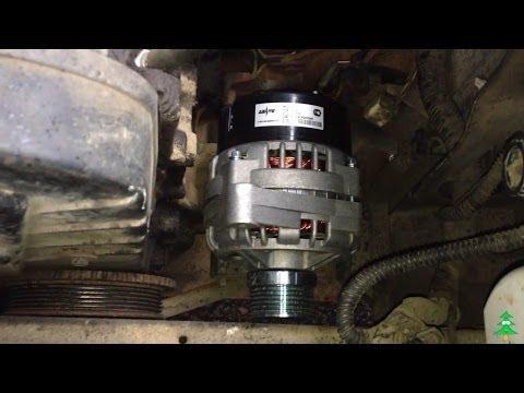 Как снять генератор ваз 2109 инжектор