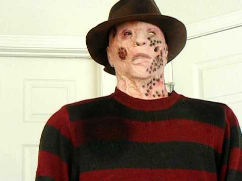spirit halloweens freddy krueger life size halloween prop 2010 - Freddy Krueger Halloween Decorations