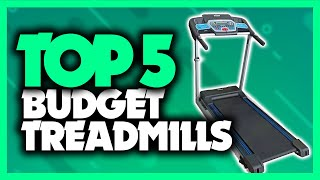 Best Budget Treadmill in 2020 [5 Picks For Home Walking & Running]