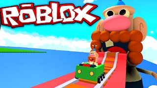 Roblox Adventures - Uncle Grandpa Roller Coaster - OPA isst mich LIVE auf!