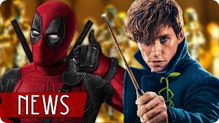 DEADPOOL 3 | OSCARNOMINIERUNGEN | PHANTASTISCHE TIERWESEN 3 - FILM NEWS