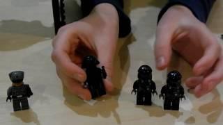 LEGO ЗВЁЗДНЫЕ ВОЙНЫ. Истребитель Первого ордена. Обзор LEGO