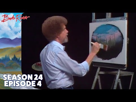 Bob Ross - Little Home in the Meadow (Season 24 Episode 4)