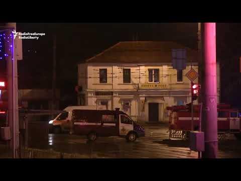 Armed Man Barricaded Inside Post Office In Ukraine