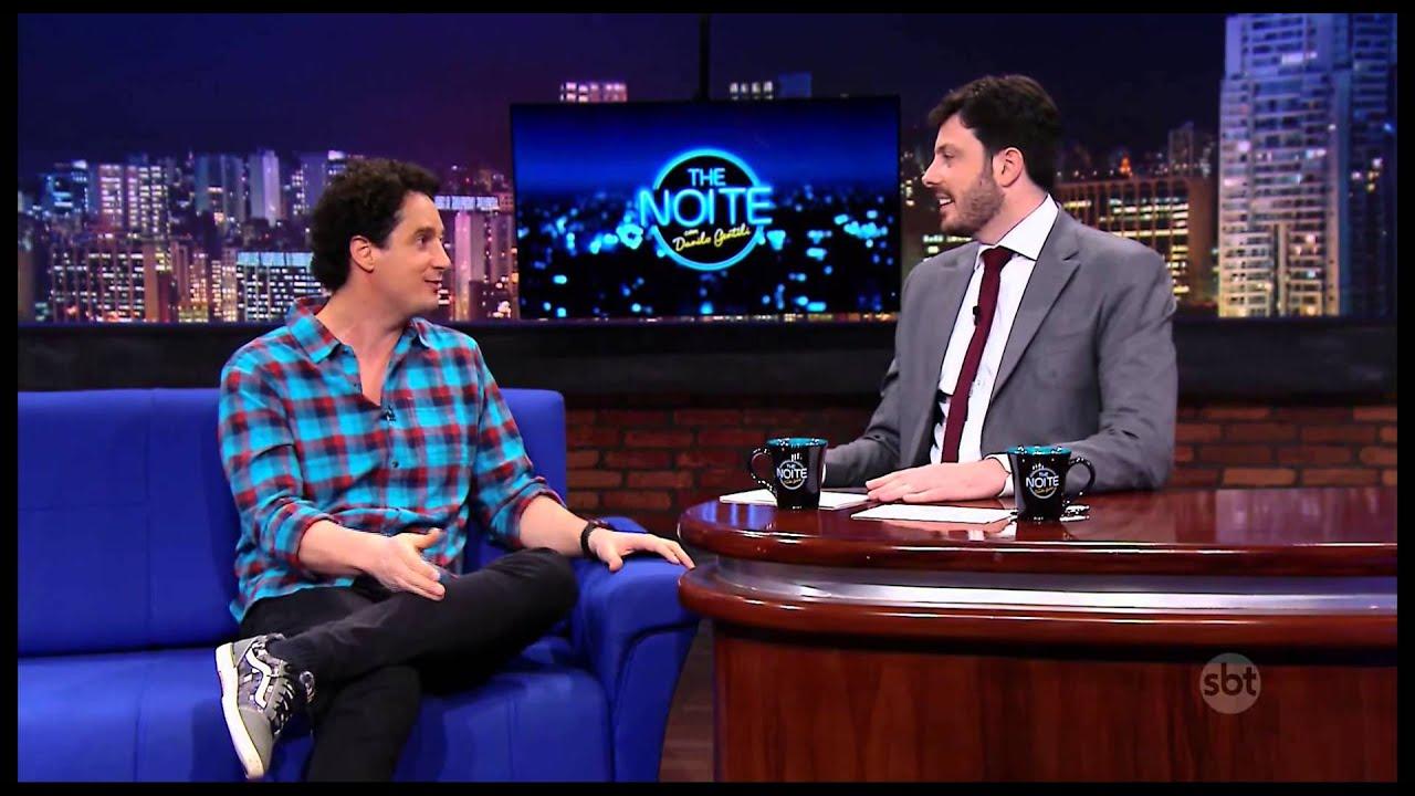 The Noite (11/11/14) - Danilo Gentili entrevista Felipe Xavier
