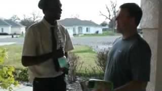 Best Door-to-Door Salesman Ever! (Aspiring Comedian Kenny Brooks).avi