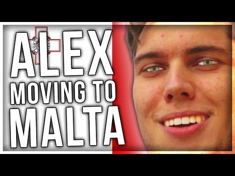 ALEX MOVING TO MALTA