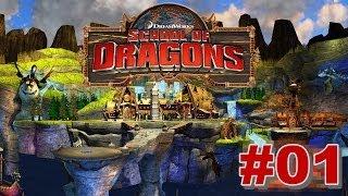 School Of Dragons #01 : Meu Primeiro Dragão (  Escola De Dragões )