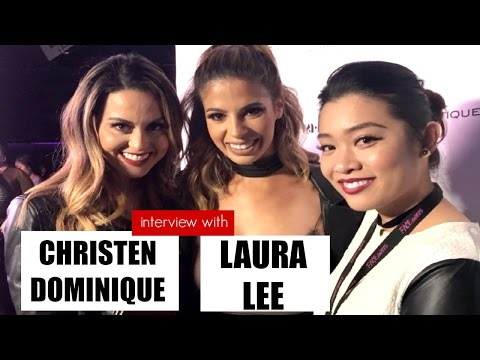Interview with Youtube Beauty Guru's Christen Dominique and Laura Lee at the 2016 NYX Face Awards