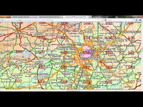 Tutorial Descarga Mapas IGN