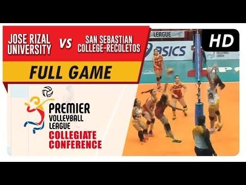 JRU vs. SSC-R | PVL Season 2 Collegiate Conference | Full Game | 2nd Set | Sept. 06, 2017