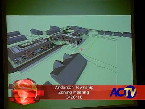 Anderson Township Zoning Meeting 3/26/18